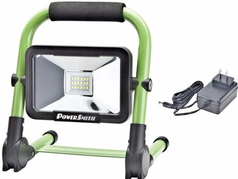 10 Watt 900 Lumen Rechargeable Foldable Green Integrated Led Work Light New Worklight Led Work Light Work Lights Simple Storage