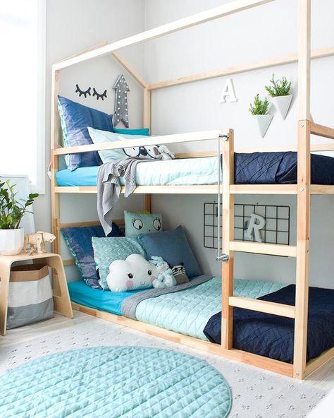 Ikea Hack Personnaliser Le Lit Evolutif Kura Deco Chambre