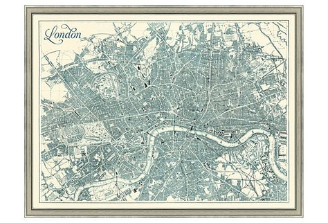 Map of Teal London