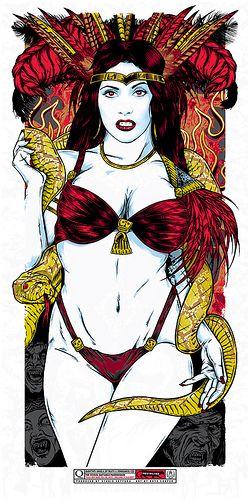Satanico Pandemonium Mondo Small Art Movie Art Dusk Till Dawn