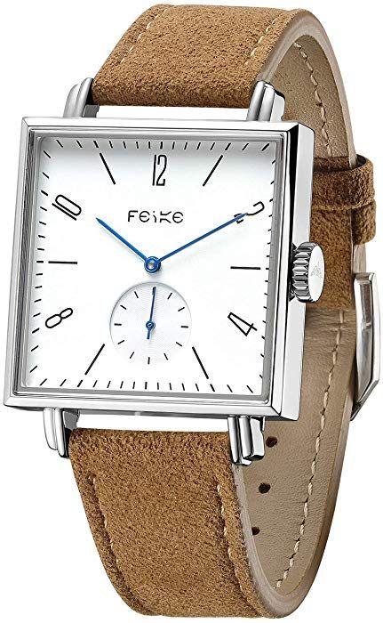 Feice Uhren Eckige Uhr Mechanische Automatik Uhr Mit Saphirglas