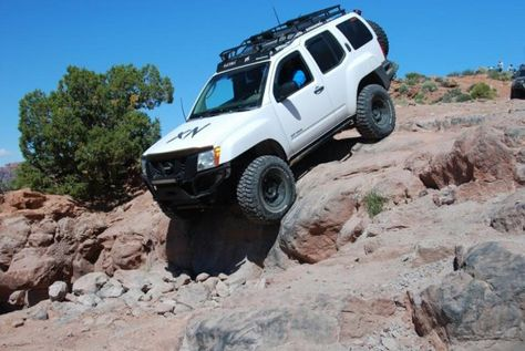 2nd Gen Xterra Rock Sliders White Knuckle Off Road 2 Rock Sliders Nissan Xterra Mom Car