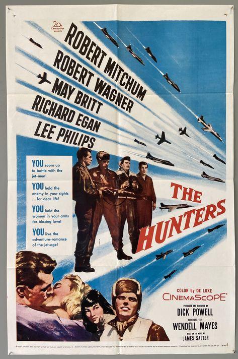 The Hunters - 41x27 / U.S.A Film, 1958
