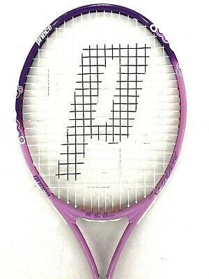 Wimbeldon By Prince Sharapova Power Soft Grommet Oversize In 2020 Tennis Racket Cover Tennis Stringing Machine Yonex
