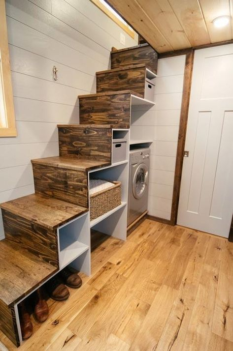 "24' ""Lykke"" Tiny House on Wheels by Wind River Tiny Homes"