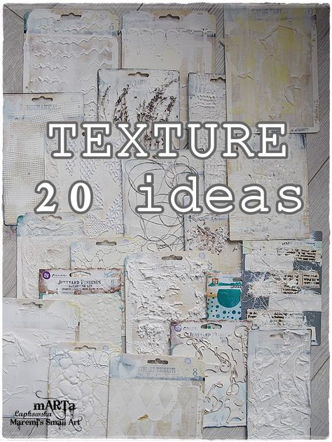 all about texture 20 ideas mixed media art tutorial maremis small art is part of Mixed media art tutorials - All about TEXTURE 20 ideas Mixed Media Art Tutorial (Maremi's Small Art) MixedMedia artIdeas Mixed Media Techniques, Mixed Media Tutorials, Art Techniques, Art Tutorials, Mixed Media Collage, Mixed Media Canvas, Mixed Media Painting, Mixed Media Journal, Crackle Painting