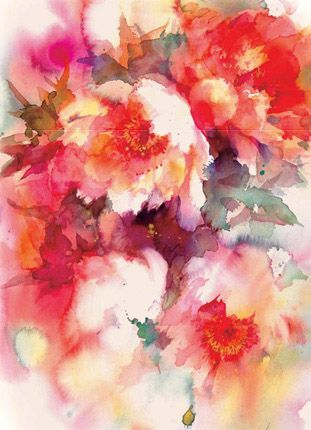 Artistes Que J Aime In 2020 Floral Watercolor Flower Art