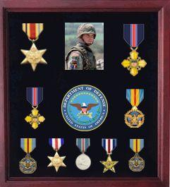 Army Medal Display Case Army Medal Shadow Box Medal Display