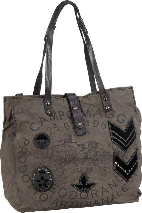 great look free shipping exquisite design Taschenkaufhaus Campomaggi Lilia C5026 Grigio - Handtasche ...
