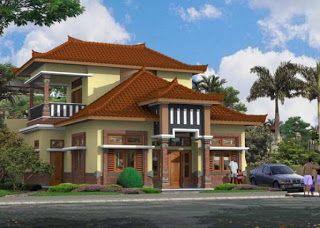Rumah Joglo Mewah 2 Lantai Denah Rumah Tradisional Rumah Desain Rumah