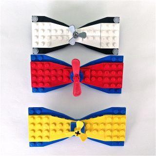 FREE SHIPPING Pre Tie Adjustable Bow Tie Lego Bowtie Lego Blocks Bow Tie