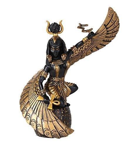 Ancient Egypt Egyptian Decor Queen Goddess Isis Artwork African God Art Statue