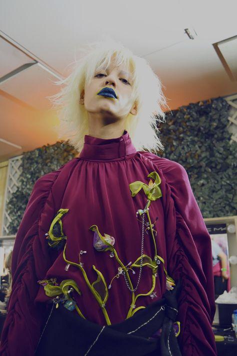 A.V. Robertson at Fashion East SS17