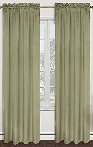 United Curtain Sterling Woven Window Curtain Panel 40 By 63 Inch