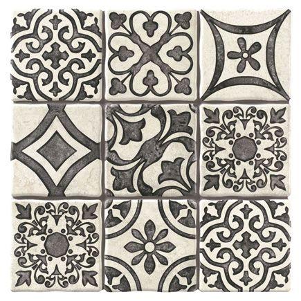 Pavimento Monza 20x20 Terra Leroy Merlin Azulejos De Mosaico Guardas Para Banos Disenos De Unas