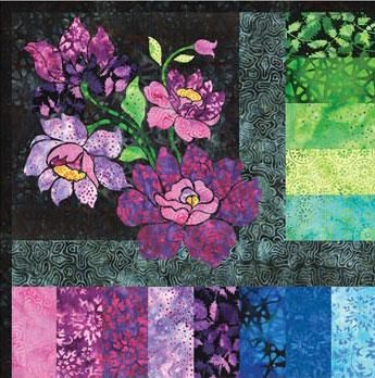 Enchanted Garden Bom December 2019 Garden Quilt Enchanted