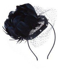Monique Pearl Trim Fascinator