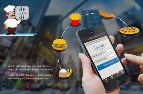 Food Ordering App That Show Nearby Restaurant With Deals