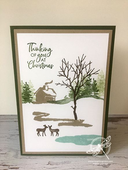 Making your Christmas cards now is a great idea. I'm really pleased to say that 2 of my favourite stamp sets from the Autumn-Winter catalogue are still available. So I've got busy with Christmas. Snow Place, Christmas Cards To Make, Christmas Ideas, Stamping Up Cards, Animal Cards, Winter Cards, Paper Crafts, Card Crafts, Homemade Cards