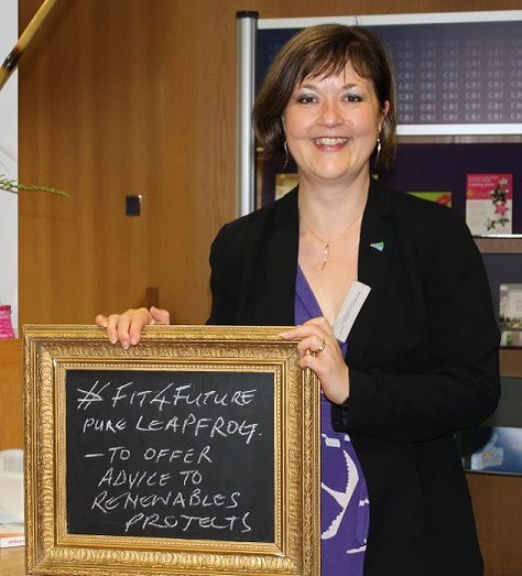 """A pledge from Pure Leapfrog - """"To offer advice to Renewables Projects""""  #Fit4Future"""