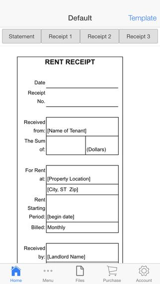 Pin by Manu Gupta on Client Invoice Tools Pinterest App - monthly rent receipt