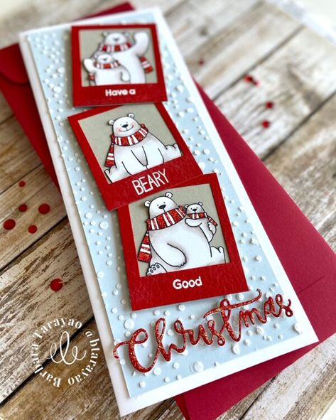 Christmas Cards To Make, Xmas Cards, Handmade Christmas, Holiday Cards, Christmas Crafts, Holiday Decor, Cute Cards, Diy Cards, Winter Cards