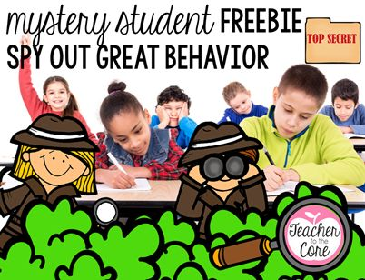 Mystery Student Freebie, such a fun tie-in to close reading, finding proof, and citing evidence.