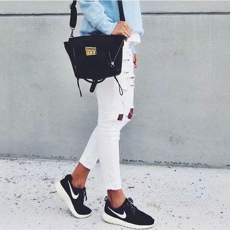 zapatillas nike mujer negras 2017