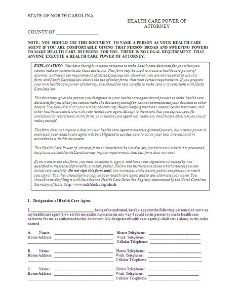 power of attorney template printable Power Of Attorney-Health - health care power of attorney form