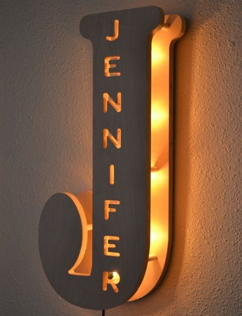 Personalised Kids Bedroom Wall Lamps Home Interiors In