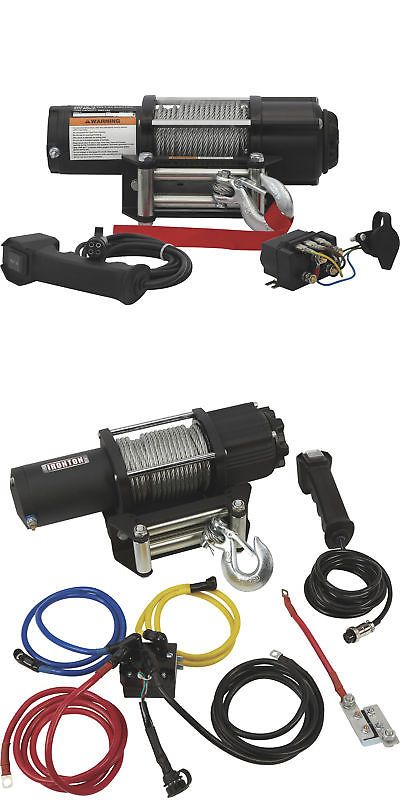 Winches 66798: Ironton 12V Dc Powered Electric Atv Winch