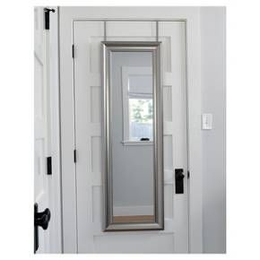 A Perfect And Easy Addition To Any Room The Over The Door Mirror Was Created To Help You Get Out The Door Lookin Over The Door Mirror Mirror Door Mirror Decor