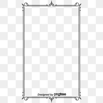 Frame Fotografia A Representacao Black Background In 2021 Free Graphic Design Vintage Borders Clip Art Vintage