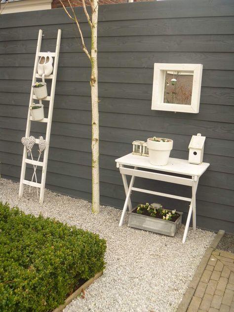 Creatieve Decoratie Ideeen.Schutting Decoratie 50 Creatieve Ideeen Tuin Ladder Tuin En