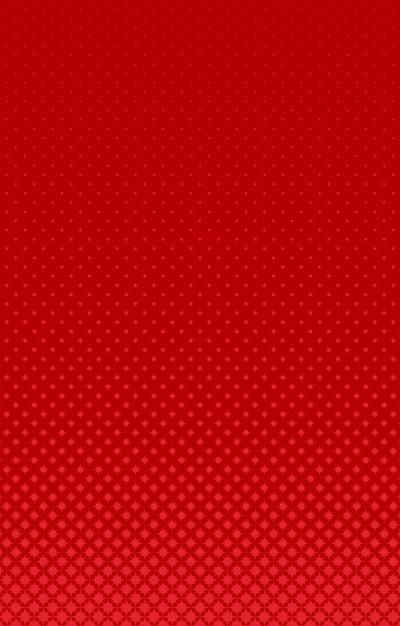 Download Red Geometrical Halftone Curved Star Pattern Background