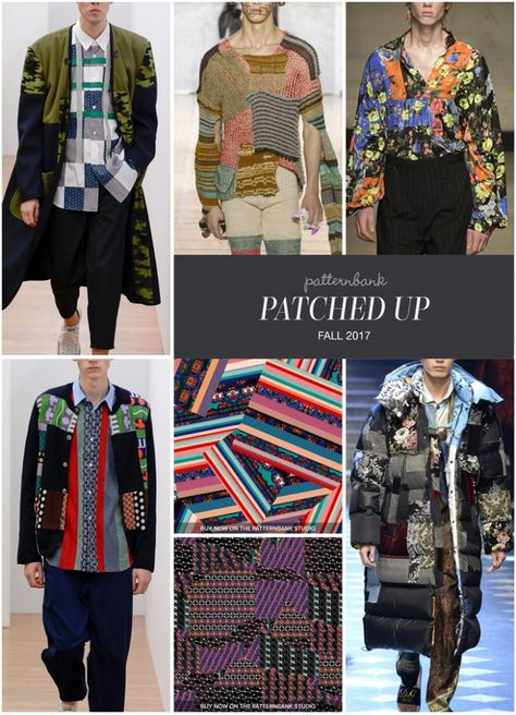 The Patternbank team bring you Part 2 of our key Print & Pattern Trends from the Autumn/Winter Menswear Catwalk shows, alongside our curated trend driven print designs from The Patternbank Onl