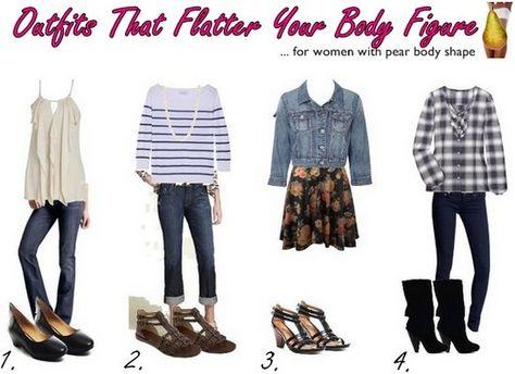 Pear Shaped Outfits On Pinterest Pear Shape Fashion