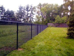 5 Ft Black Vinyl Chain Link Fence Black Chain Link Fence Dog Fence Cheap Chain Link Fence Installation