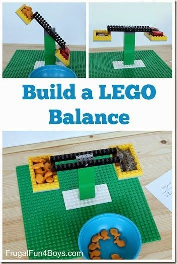 Build a Lego Balance - This is such a fun Lego activities for kids to help them learn while having fun with this STEM activities for kids Kindergarten grade grade grade grade grade homeschool math math activities Lego Duplo, Lego Math, Math Math, Fun Math, Lego Games, Lego Minecraft, Math Games, Lego Kindergarten, Math Stem