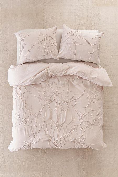 Lumi Floral Roping Duvet Cover Duvet Cover Master Bedroom Solid Duvet Duvet Covers