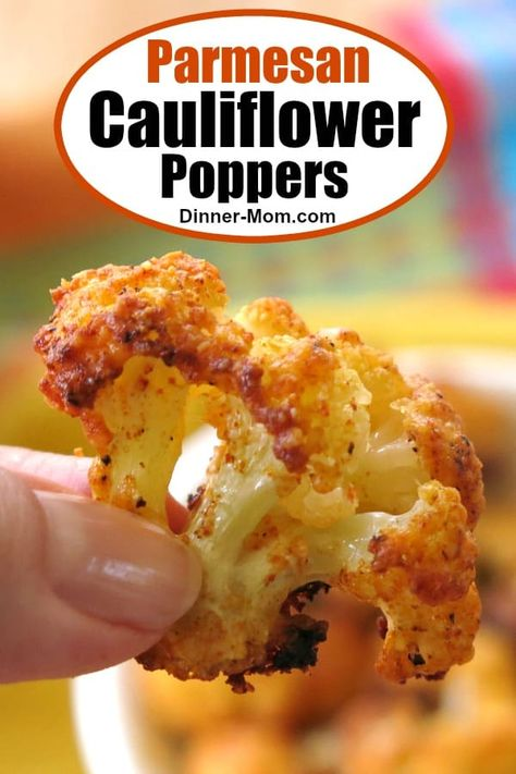Parmesan Cauliflower Bites – Just 5 Ingredients! Parmesan Cauliflower Bites – Just 5 Ingredients!,Essen Parmesan Cauliflower Poppers are a healthy snack that just happens to be low-carb and keto-friendly too! Make plenty because they. Low Carb Recipes, Diet Recipes, Vegetarian Recipes, Cooking Recipes, Healthy Recipes, Chicken Recipes, Applebees Recipes, Healthy Cauliflower Recipes, Crockpot Recipes
