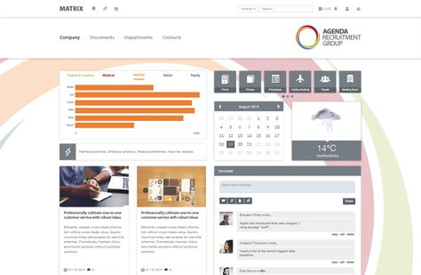 Agenda Recruitment Intranet Homepage Intranet Software Design - agenda examples