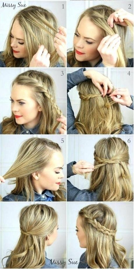 Einfach Und Suss Alles Frei Frisuren Schnelle Frisuren Einfache