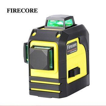 Firecore 3d F93tg 12lines Green Laser Level Self Leveling 360 Horizontal And Vertical Cross Super Powerful Green Laser Beam Line Laser Levels Green Laser Beams