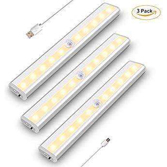 Szokled センサーライト 人感センサーライト 屋内 充電式 間接照明 Led