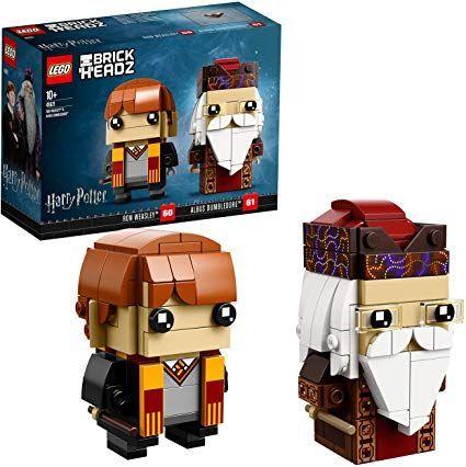 Lego Brickheadz Ron Weasley Harry Potter Ron Weasley Bauset Harry Potter Ron