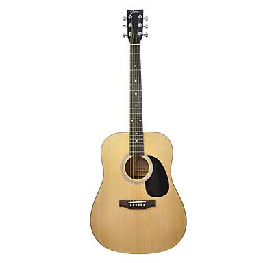 119 99 Johnson 6200n 41 Spruce Dreadnought Acoustic Guitar With Bag Strap Picks Wrench Bag Straps Acoustic Guitar Guitar
