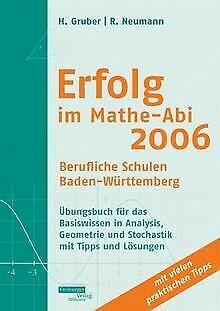 Erfolg Im Mathe Abi 2006 Berufliche Schulen Baden Wurtte Mathe Abi