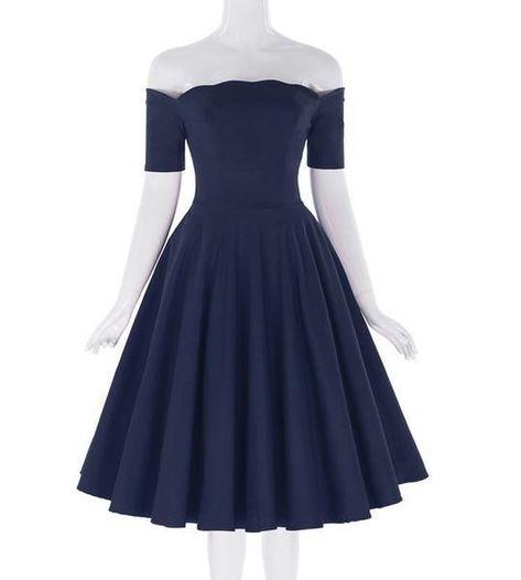 Vintage Off Shoulder Short Homecoming Dress CR   Cherry