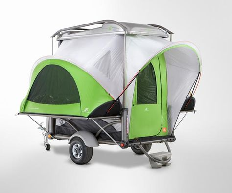 The 3 Best Car Racks of Summer 2012: Sylvan Sport Go trailer-camper. $7,500.